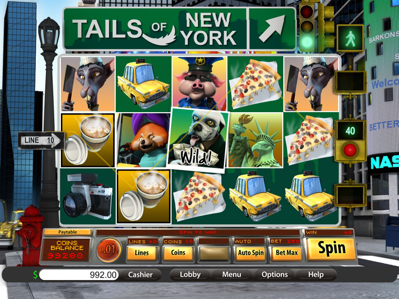 Tails of New York Slot - Play the Saucify Slot for Free Here